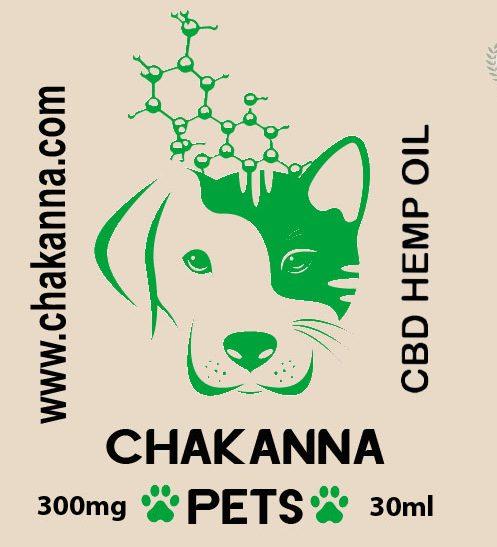 Label Chakanna PETS 30ml
